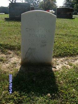Christina <i>Hughes</i> Porter