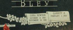 Lora Mary <i>Newton</i> Bley