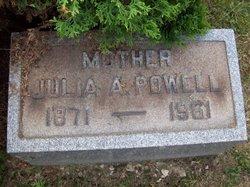 Julia A Powell