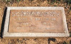 Jessie Pearl <i>Miller</i> Ballinger
