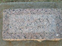 Rose A <i>Burton</i> Jackson