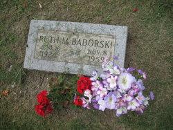 Ruth M Badorski