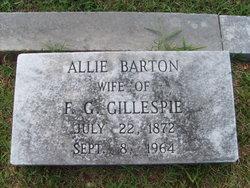 Allie <i>Barton</i> Gillespie