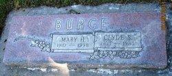 Mary Hannah <i>Yarwood</i> Burge