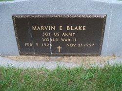 Sgt Marvin Eugene Blake