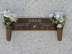 Marie Elizabeth <i>Cotter</i> Adam