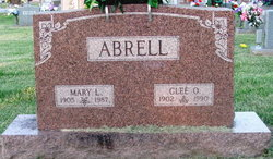 Mary <i>Lucas</i> Abrell