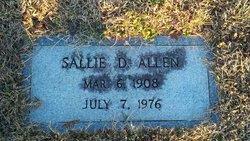 Sallie Elizabeth <i>Denning</i> Allen