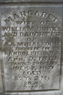 Margaret <i>Balfour</i> Burke