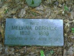 Melvina <i>Perkins</i> Derrick
