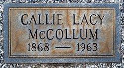 Callie <i>Lacy</i> McCollum