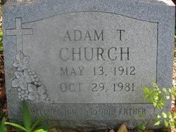 Adam T Church
