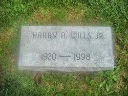 Harry A Wills, Jr