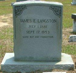 James Edward Langston