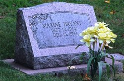 Maxine <i>Sheehy</i> Bryant