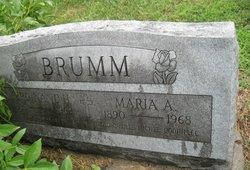 Maria A <i>Mass</i> Brumm