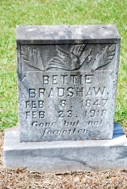 Bettie Elizabeth Bradshaw