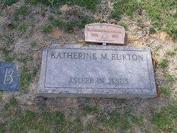 Katherine Mae Burton