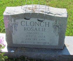 Rosalie <i>Daniels</i> Clonch