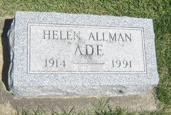 Helen B. <i>Allman</i> Ade