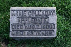 Annie <i>Colladay</i> Applegate