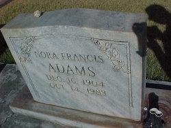 Nora Frances Adams