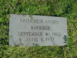 Frederick Angier Barbour