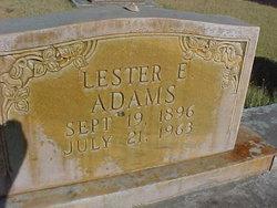 Lester Eugene Adams