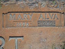 Mary Alva Ehlert
