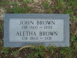 Aletha <i>Padgett</i> Brown