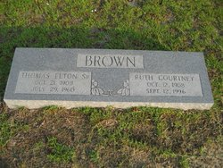 Ruth <i>Courtney</i> Brown