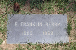 Benjamin Franklin Berry, Jr
