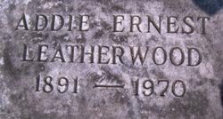 Addie <i>Ernest</i> Leatherwood