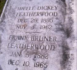 Idelle <i>Dickey</i> Leatherwood