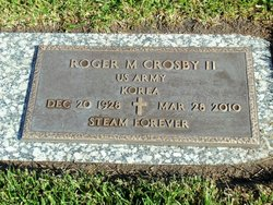 Roger M Crosby, II