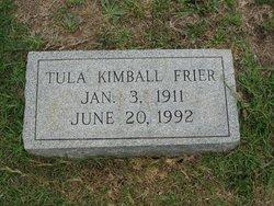 Tula <i>Kimball</i> Frier