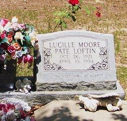 Lucille Moore <i>Pate</i> Loftin