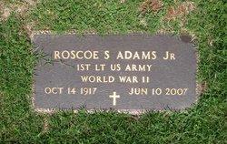 Rosco S Adams, Jr