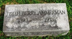 Edith <i>Berry</i> Ammerman
