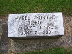 Mabel <i>Robbins</i> Bishop