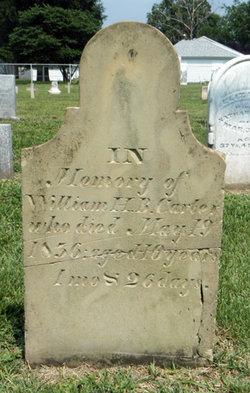 William H B Carter