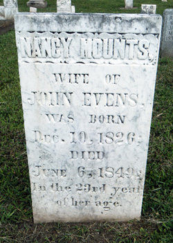 Nancy <i>Mounts</i> Evens