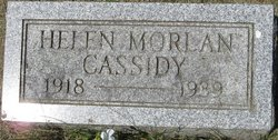 Helen <i>Morlan</i> Cassidy