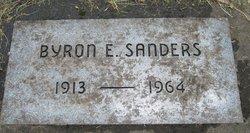 Byron Edmond Sanders