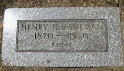 Henry D. Kaufman, Sr