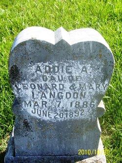 Addie Alice Langdon