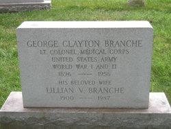 Lillian V Branche