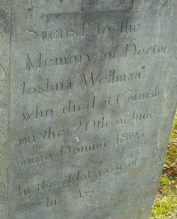 Dr Joshua Wellman