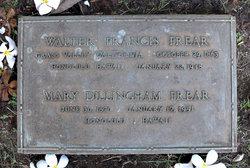 Walter Francis Frear