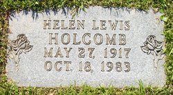 Helen <i>Lewis</i> Holcomb